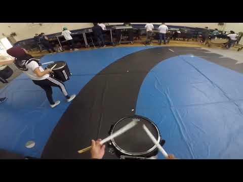 "Millikan High School 2019 Indoor Percussion ""What Makes Us Tick"" Snare Cam Richard Soeung"