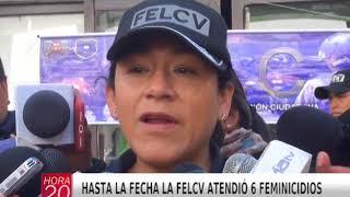 HASTA LA FECHA LA FELCV ATENDIÓ 6 FEMINICIDIOS