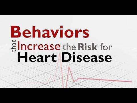 Five Behaviors that Increase Heart Disease Risk