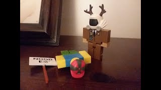 Roblox Stop Motion: Noob gets beaten up!