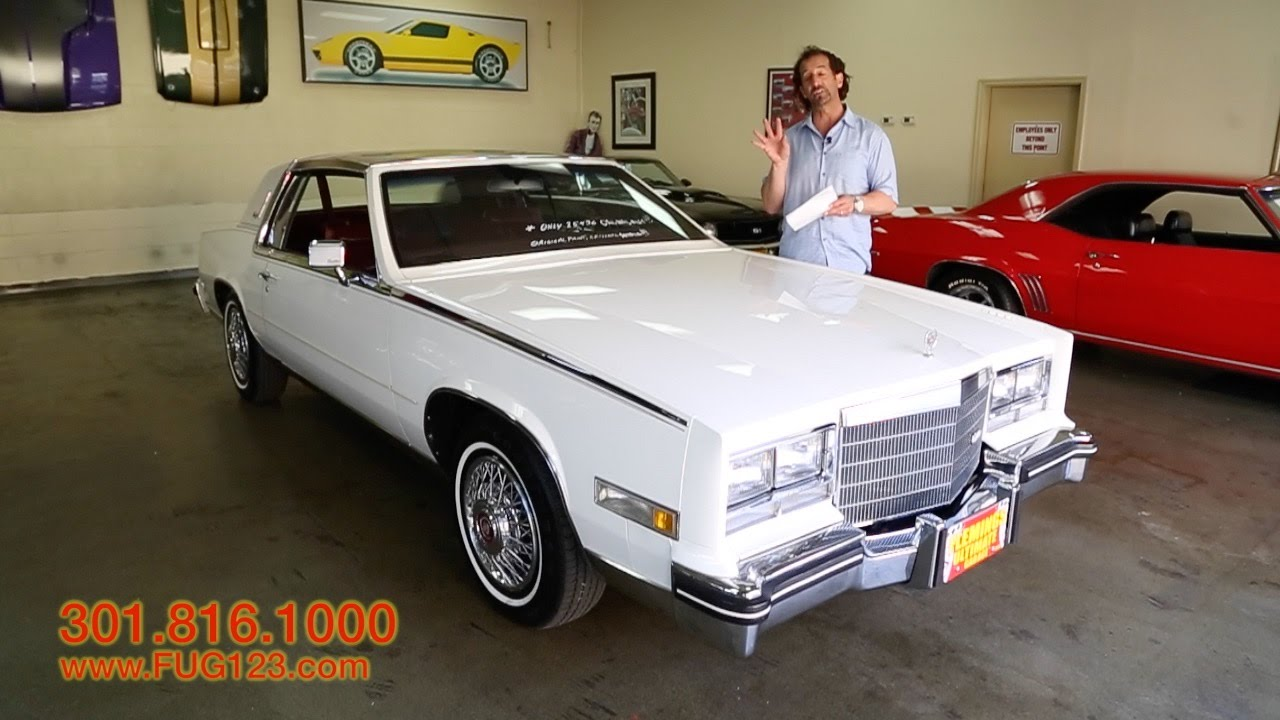 1984 cadilac eldorado biarritz for sale with test drive driving sounds and walk through video youtube 1984 cadilac eldorado biarritz for sale with test drive driving sounds and walk through video