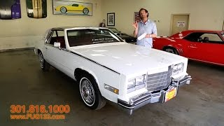 1984 Cadilac Eldorado Biarritz for sale with test drive, driving sounds, and walk through video