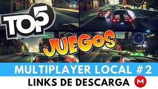 TOP 5 JUEGOS MULTIPLAYER LOCAL |+ LINKS 2017 ||