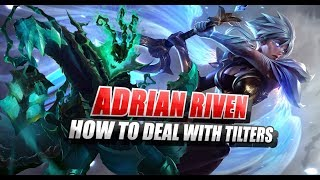 Adrian Riven ft. Tilted thresh Unranked to Challenger