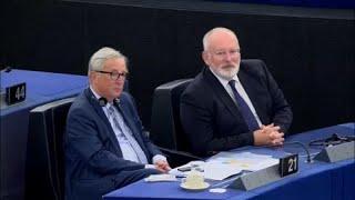 Neves vita az EP-ben Juncker beszédéről