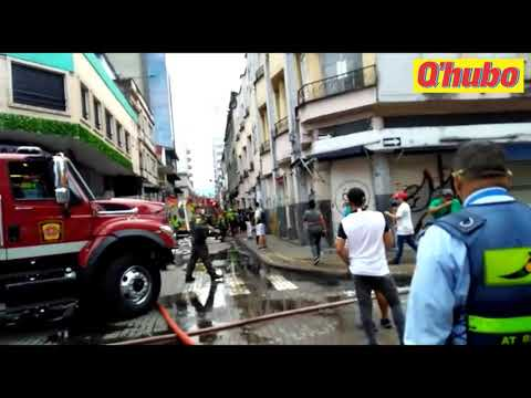 Balance preliminar del incendio ocurrido en inquilinato del centro