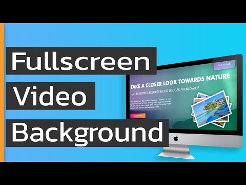 Fullscreen Video Background |Source Code Link | HTML And CSS | 2020