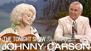 Dolly Parton Wrote a Song Just For Johnny - Carson Tonight Show