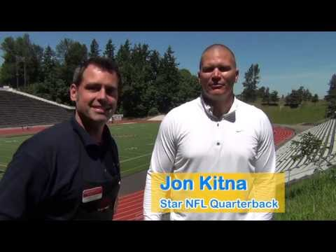 Jon Kitna Day at South Tacoma Grocery Outlet