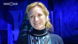 Мария Киселева показала казанцам водное шоу