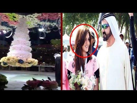 Sheikh of Dubai Daughter's wedding Cake...