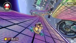 Rainbow Road - 1:59.881 - Zhu (Mario Kart 8 World Record)