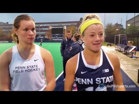 Penn State Field Hockey Post-Game vs. Michigan State