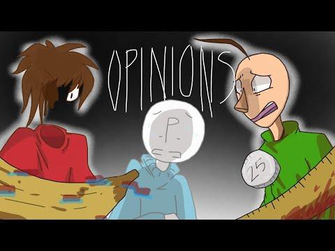 Opinions AMV (Animatic/Animation) [Baldi's Basics Part 2] Flashing lights warning!!