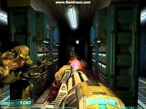 Doom 3 Lets Play Ep 11 Minigun Youtube