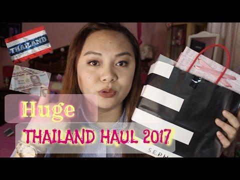 HUGE Thailand Haul (Sephora, Make-ups, Bags, Accessories etc.) I ItsMeAira_MD