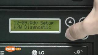 SATA Duplicator tower functionality test