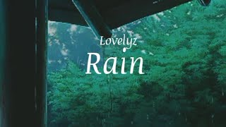 Lovelyz(러블리즈) RAIN (비) Eng/Han Aesthetic Lyrics