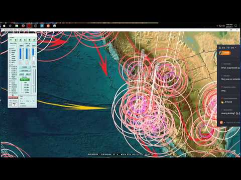 8/25/2017 -- West Coast USA / Oregon Earthquake hit as expected -- Unrest spreads across USA