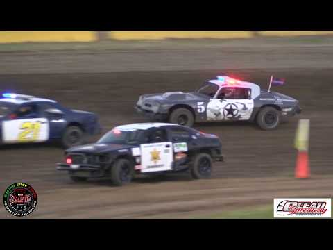 Ocean Speedway Police N Pursuit July 12th, 2019 Main Event Highlights
