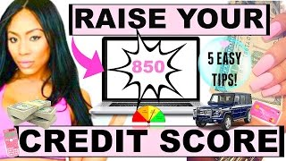 How To Raise Your Credit Score FAST | Credit Repair Secrets to a Perfect Score!(Credit repair secrets! How to raise your credit score EASY and QUICK! Whether you're looking to get a mortgage, alter your budget, lower your interest rates, ..., 2016-09-06T03:13:16.000Z)