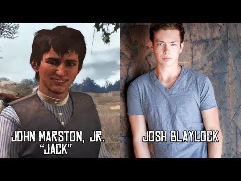 Characters and Voice Actors - Red Dead Redemption