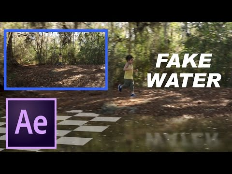 Fake Water - Adding Pretend Water in After Effects