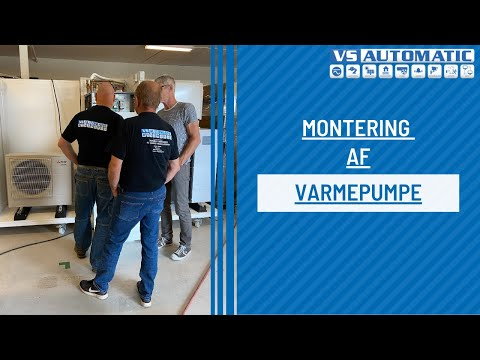Varmepumpe Montage Youtube