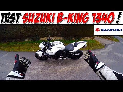 #MotoVlog 65 : TEST SUZUKI B-KING 1340 / HAYABUSA NAKED !