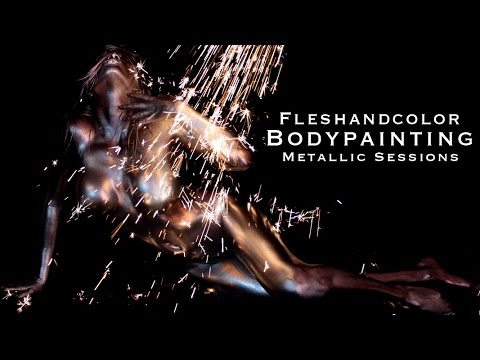 Metallic Body Art Bodypainting Sparks Video Body Painting And Photography By Dewayne Flowers Youtube