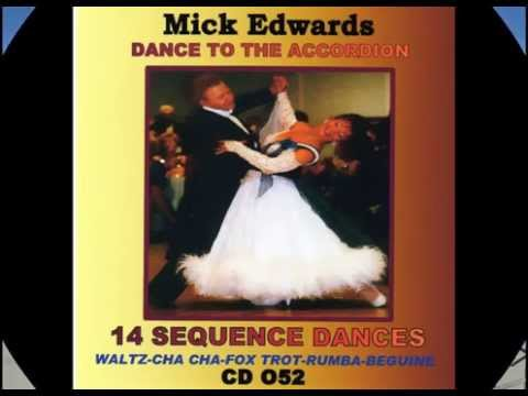 Spanish Eyes Cha Cha Cha .For Sequence Dance,Accordion Music  by  Mick Edwards.