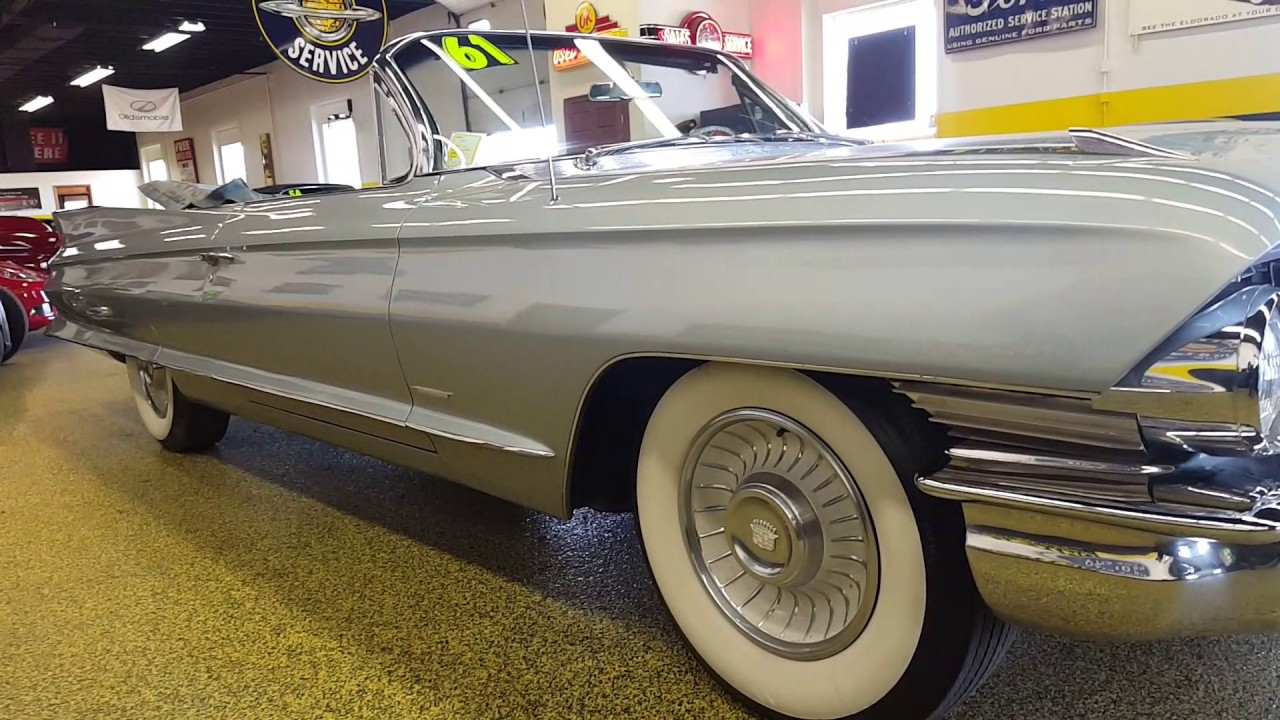 1961 Cadillac Convertible for sale - YouTube