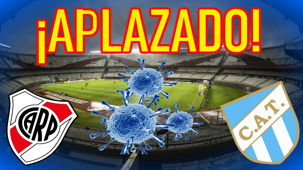 APLAZADO POR EL COVID19 U26bd River Plate VS Atletico Tucuman