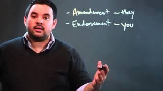 The Difference Between an Amendment & an Endorsement in Insurance