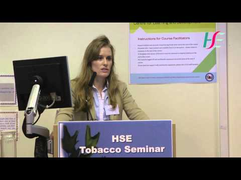 Tobacco Free - A HSE service plan priority - Dr. Stephanie O'Keeffe