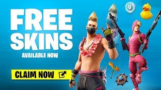 New FREE SKINS & ITEMS NOW in Fortnite (14 FREE ITEMS)