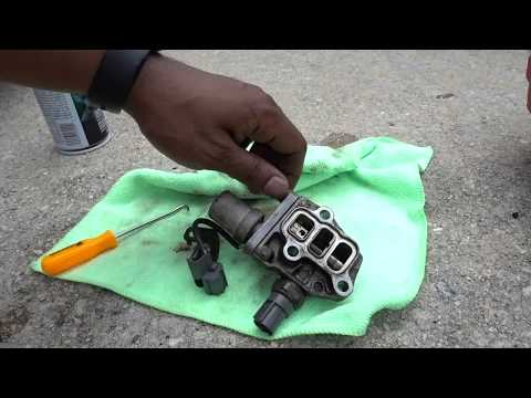 How To Replace VTEC Solenoid Gasket on a 1998 to 2002 Accord - YouTube