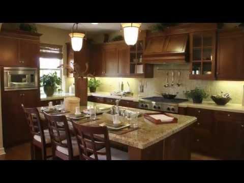 Дизайн кухни  Коричневая кухня