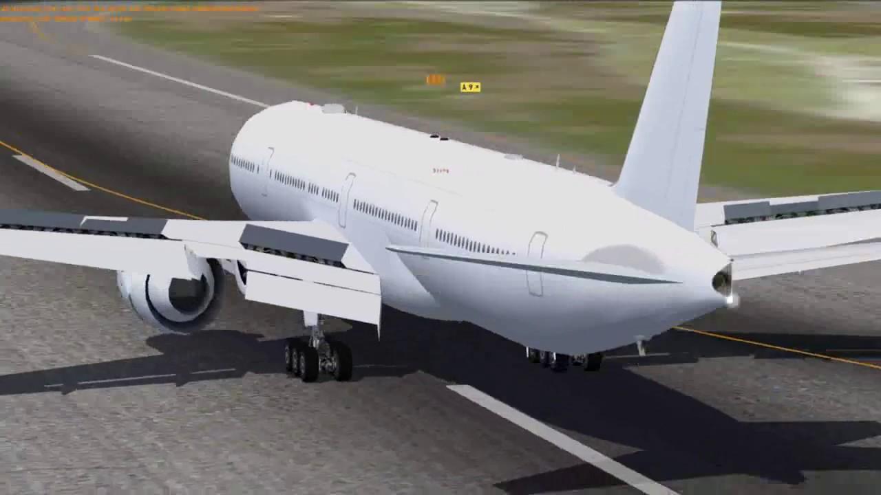 FSPXAI B777-300ER - Spoiler and aileron motion preview