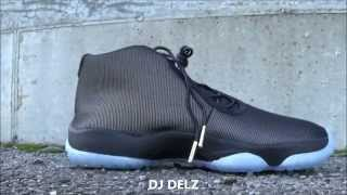 Air Jordan Future Black/Clear Sneaker Review + 3M Testing With Dj Delz