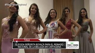 Elegida Señorita Boyacá para el Reinado Nacional de la Belleza en Cartagena