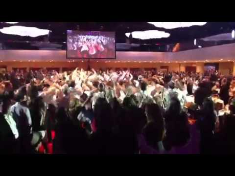 Chai lifeline flash mob dance