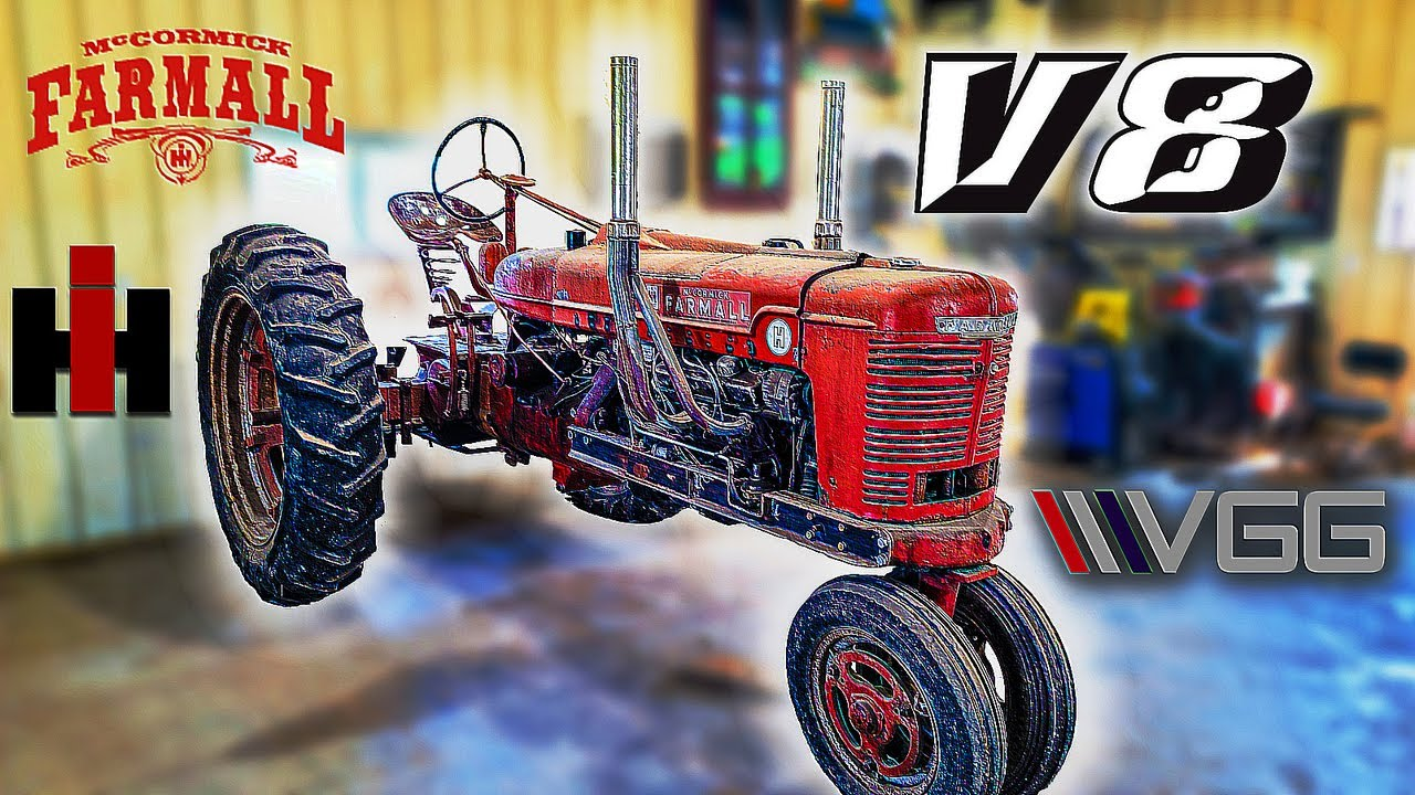 Download FORGOTTEN V8 4 Speed Swapped Tractor - Will It RUN AND DRIVE 35 miles home?