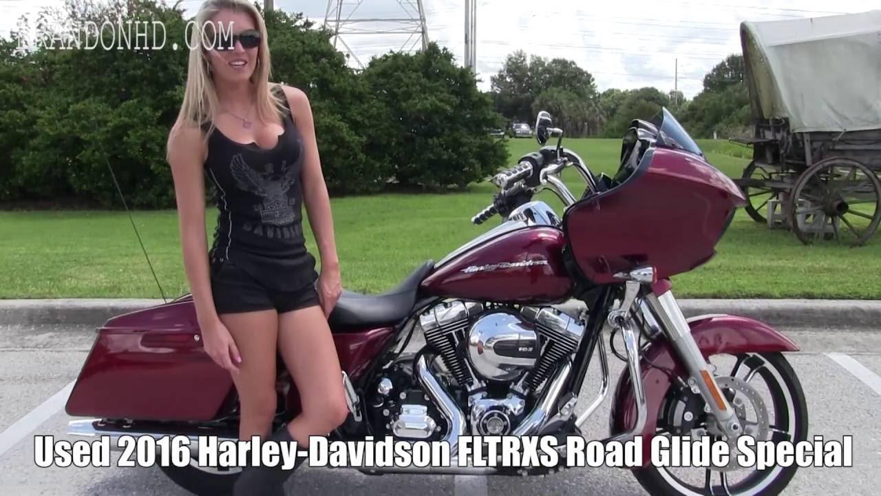 USED 2016 Harley Davidson Road Glide Special miles 2020 Tampa FL