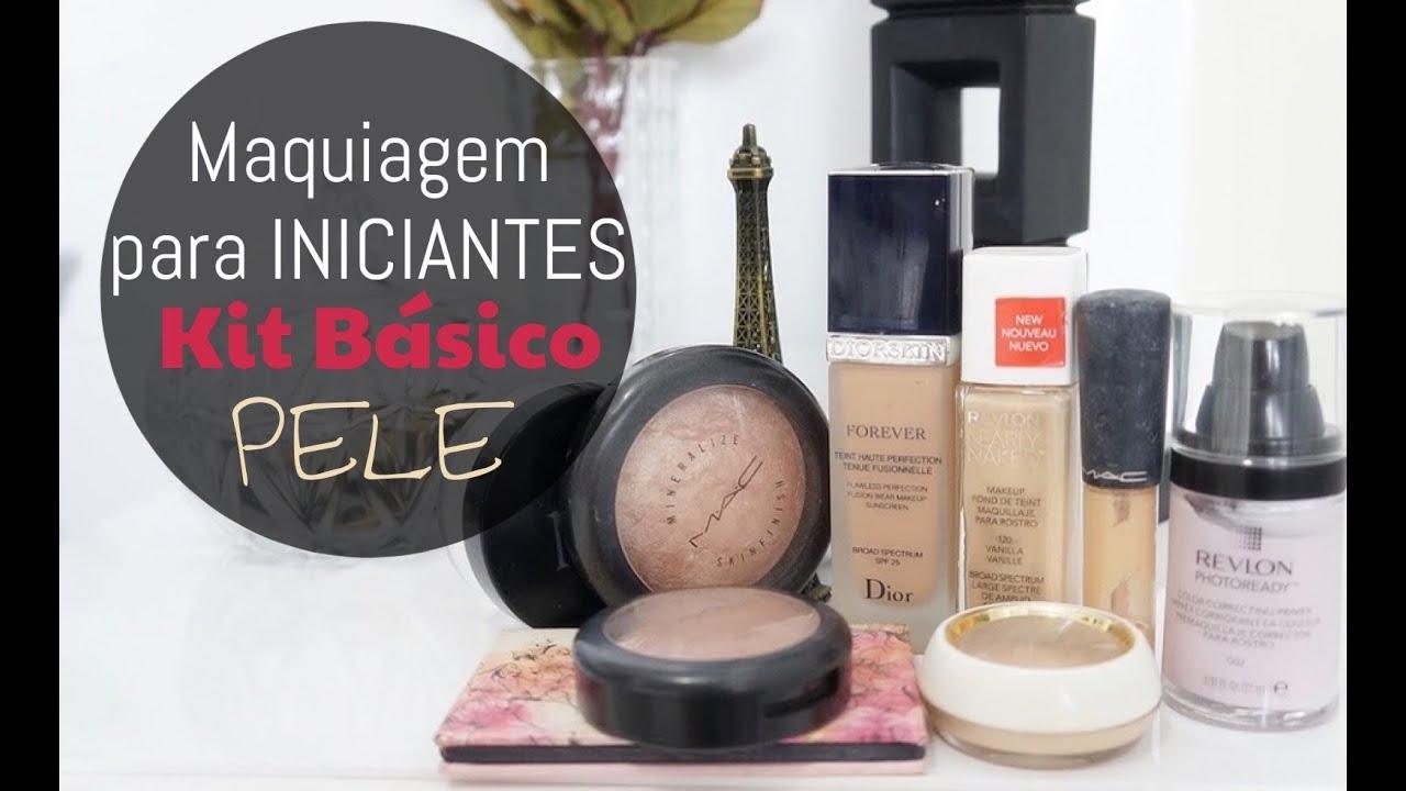Maquiagem para iniciantes 3 kit b sico de maquiagem for Kit da 3 bay