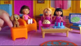 Hannah ~ Fisher Price Commercial, Dora Doll house