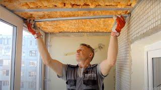 видео Утепление балконов и лоджий | Строительный справочник | материалы - конструкции - технологии