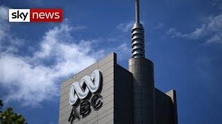 Australian TV station raided by police