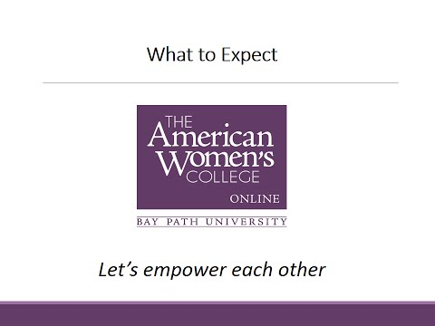 Welcome to The American Women's College: What to Expect