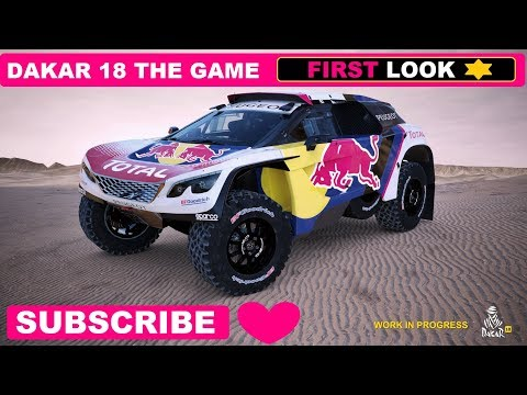Dakar Rally 18 The Game - Exclusive First Look. Best Offroad Game Of The Moment